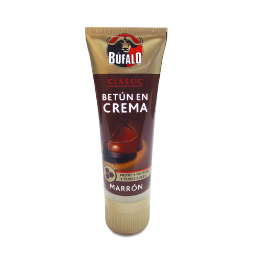 betun crema colapsible marron