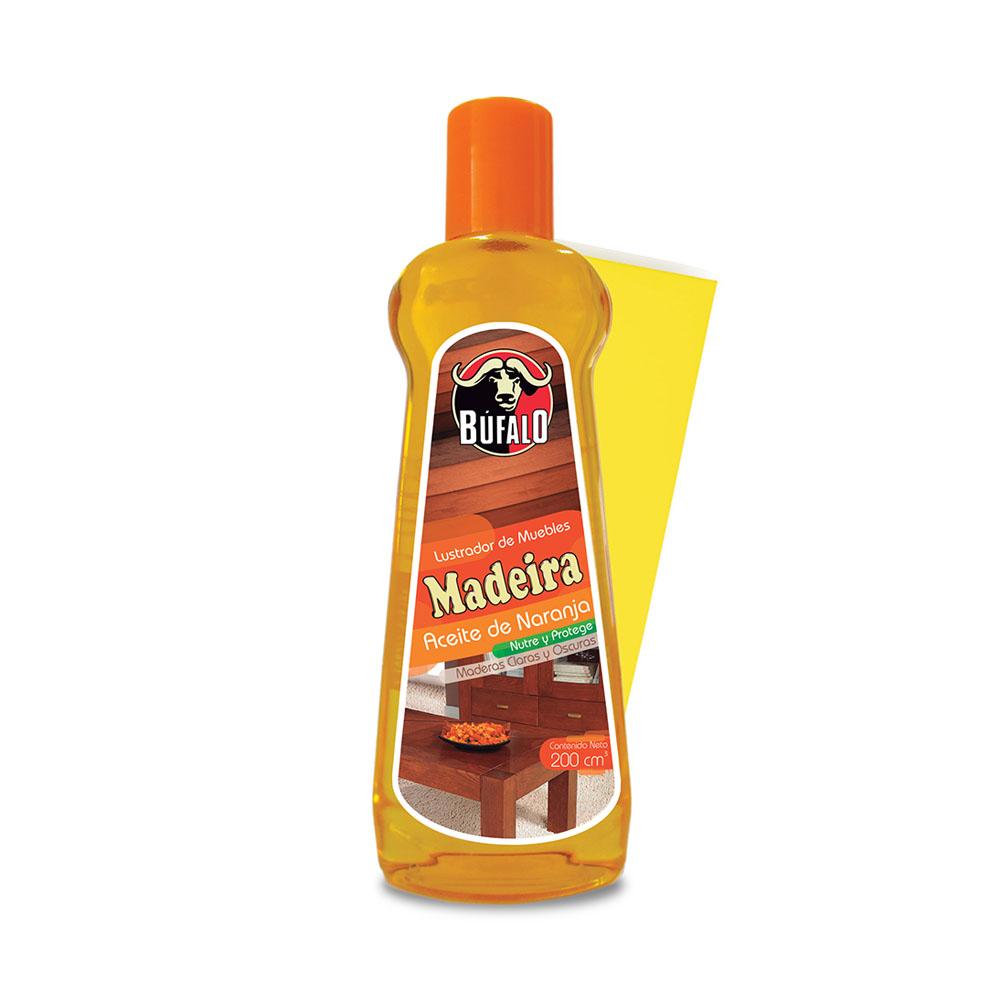 aceite madeira naranja - pano