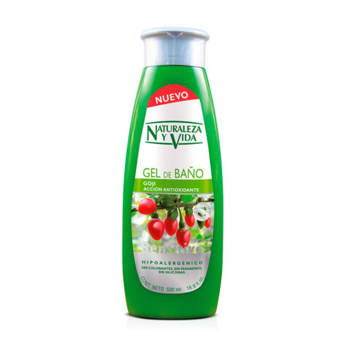 gel de baño Goji Sensitive