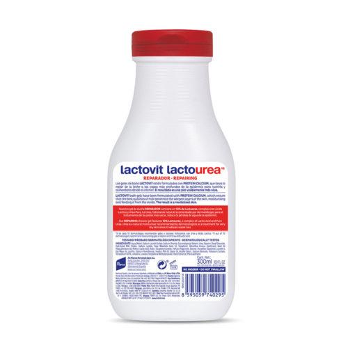 gel de bano reparador lactourea