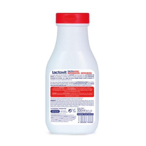gel de baño reparador lactourea