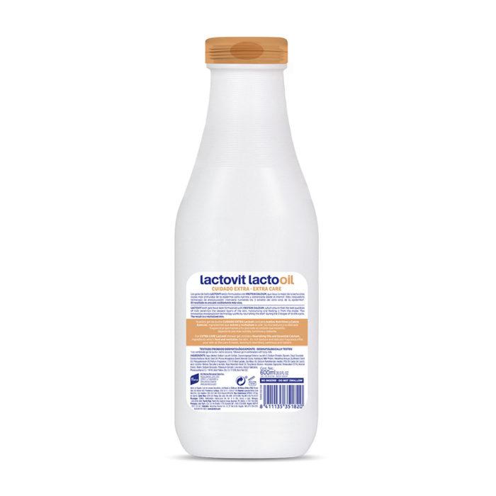 gel de bano lactooil
