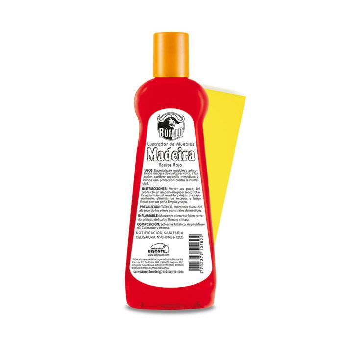 aceite rojo - pano