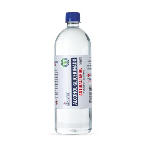 shower alcohol glicerinado 1000 ml